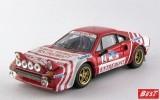 """BEST9628 - FERRARI 308 GTB GR.4 - Targa Florio 1981 - Andruet / """"Tilber"""""""