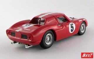BEST9629 - FERRARI 250 LM - 1000 Km di Parigi 1964 - Muller / Boller