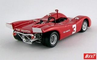 BEST9631 - ABARTH 2000 SP - European 2-Litre Championship Salzburgring 1970 - D. Quester