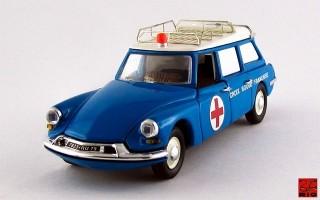 RIO4165 - CITROEN ID 19 BREAK - 1958 - Ambulanza - Croce Rossa Francese