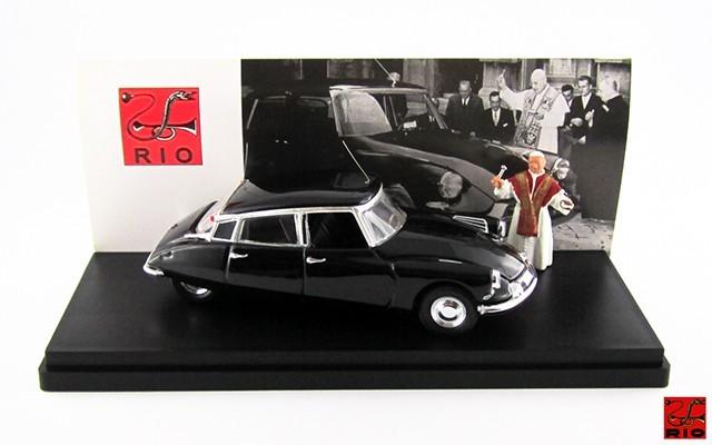 RIO4171/P - CITROEN DS 19 - 1958 - Papa Giovanni XXIII