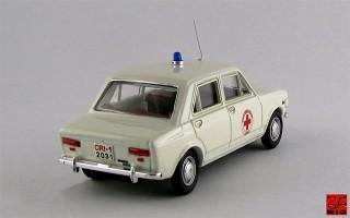 RIO4187 - FIAT 128 - 4 PORTE - 1970 - Croce Rossa