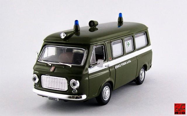 RIO4204 - FIAT 238 - Ambulanza Croce Verde A.P.M. Milano