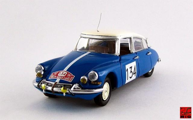 RIO4206 - CITROEN DS 21 - 1¡ Rally Montecarlo 1967 - Neyret / Terramorsi