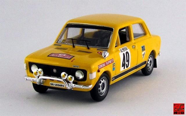 RIO4230 - FIAT 128 RALLY GR.1 - Montecarlo 1972 - Lier / Frattini