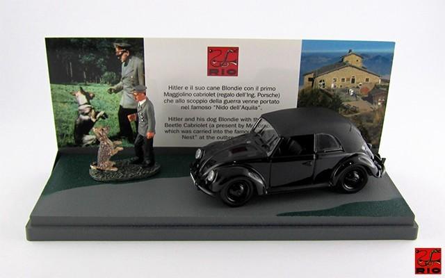 RIO4248/P - VOLKSWAGEN MAGGIOLINO CABRIO - 1938 - Hitler e Blondie