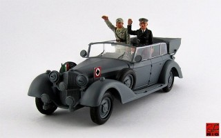 RIO4250/P - MERCEDES 770 K - 1938 - Mussolini in Germania