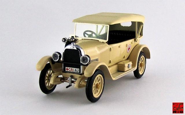 RIO4268 - FIAT 501 - 1936 - Croce Rossa Coloniale