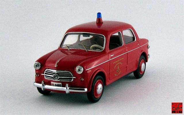 RIO4285 - FIAT 1100 103 TV - 1955 - Vigili del fuoco