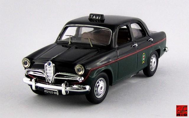 RIO4286 - ALFA ROMEO GIULIETTA BERLINA - 1959 - Taxi Milano