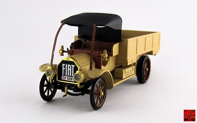 RIO4316 - FIAT 18 BL - 1914 - Autocarro