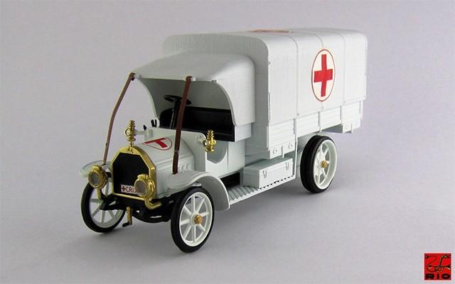 RIO4320 - FIAT 18 BL - 1915 - Croce Rossa Esercito Italiano