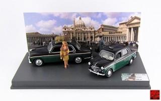 RIO4331/D - ALFA ROMEO + FIAT ALFA ROMEO 1900 - FIAT 1100 TV - 1914 - Taxi Roma