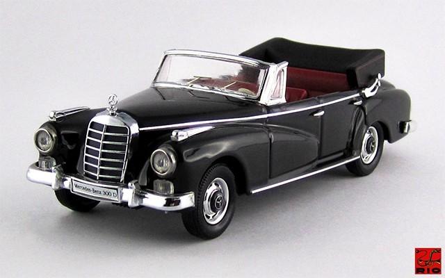RIO4341 - MERCEDES 300 D - 1958 - Cabriolet