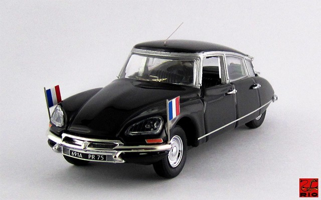 RIO4347 - CITROEN DS 21 - 1974 - Valery Giscard D'Estaing
