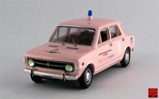 RIO4348 - FIAT 128 - 4 PORTE - 1971 - Croce Rosa Celeste