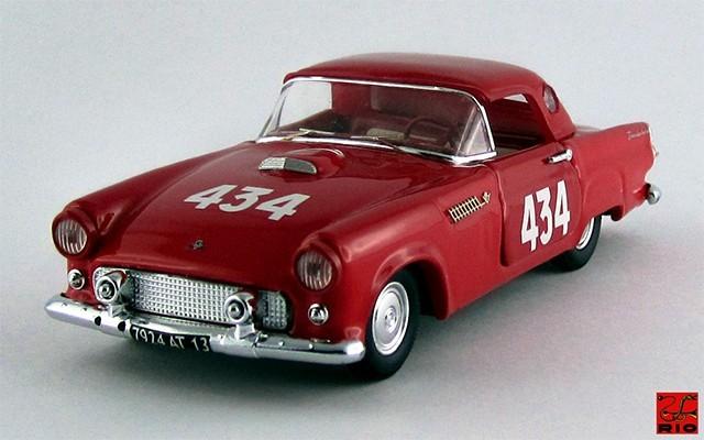 RIO4362 - FORD THUNDERBID - Mille Miglia 1957 - Smadsa / Raselli