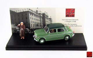 RIO4367/P - FIAT 1100 TV - 1956 - Padre Pio inaugurazione Ospedale