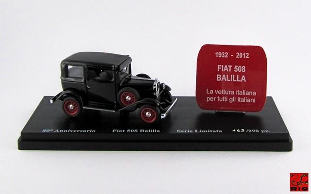 RIO4372 - FIAT 508 BALILLA - 1932 - 80° Anniversary of Balilla