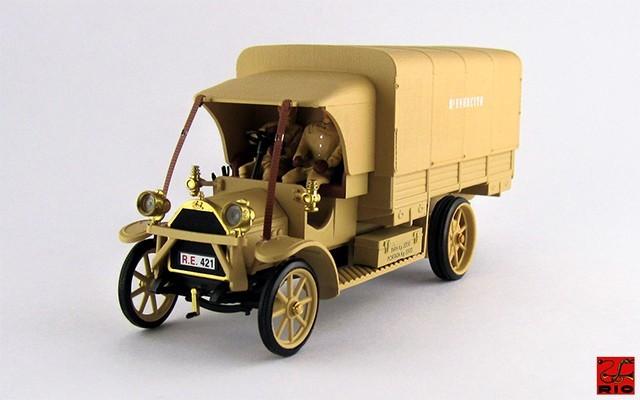 RIO4378/P - FIAT 18 BL - 1919 - E. I. - Il Re del deserto