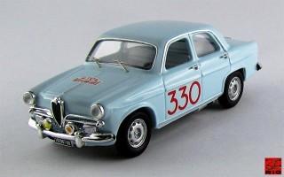 RIO4410 - ALFA ROMEO GIULIETTA BERLINA T.I. - Rallye Monte-Carlo 1964 - Pinasco / Sanfilippo