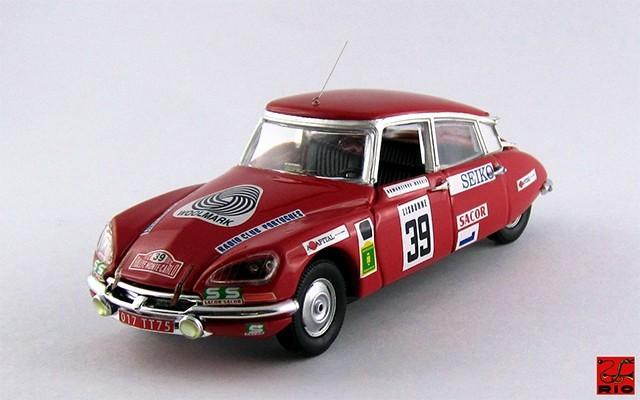 RIO4423 - CITROEN DS 21 - Rallye Monte-Carlo 1972 - Romanzinho / Morais