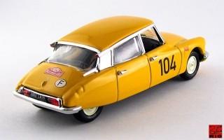 RIO4450 - CITROEN DS 19 - Rallye Monte-Carlo 1962 - Maurel / Courbe