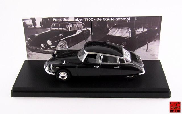 RIO4451 - CITROEN DS 19 - 1962 - Charle De Gaulle