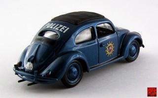RIO4464 - VOLKSWAGEN MAGGIOLINO - 1956 - Polizia Tedesca