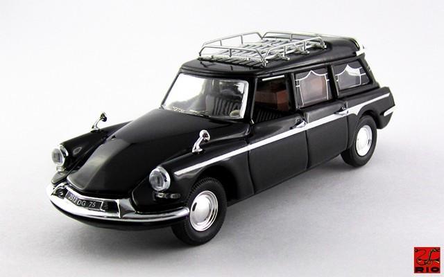 RIO4467 - CITROEN ID 19 BREAK - 1960 - Carro Funebre con cassa