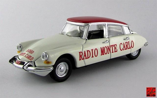 RIO4498 - CITROEN DS 19 - 1962 - Radio Monte Carlo