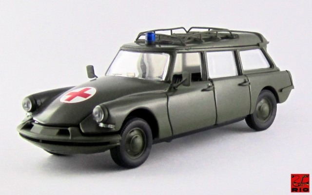 RIO4503 - CITROEN DS 19 BREAK - 1960 - Ambulanza militare