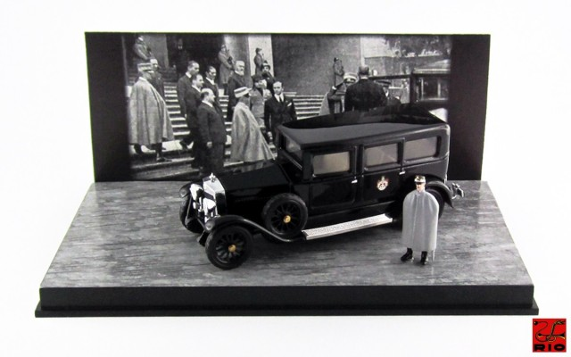 RIO4510/P - FIAT 519 S LIMOUSINE - 1929 - Re Vittorio Emanuele III