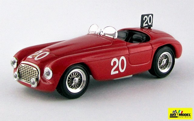 ART024 - FERRARI 166 MM BARCHETTA - SPA 1949 - Chinetti
