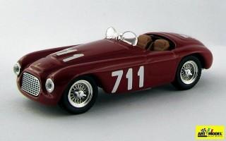 ART052 - FERRARI 166 MM BARCHETTA - Mille Miglia 1950 - Bracco / Maglioli