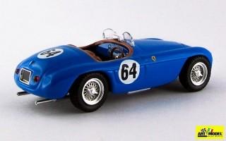 ART080-2 - FERRARI 166 MM BARCHETTA - Le Mans 1951 - Bouchard / Fernaud