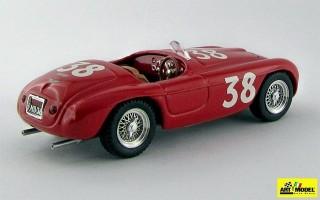 ART096 - FERRARI 166 MM BARCHETTA - Silverstone 1950 - Ascari