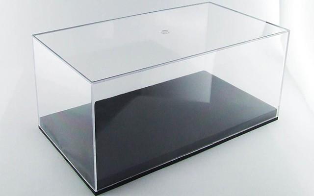 Vetrina in plastica 20x11x9 cm