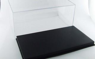 Plastic showcase 20x11x9 cm