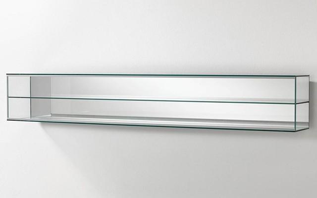 Vetrina in cristallo 140x22x18 cm