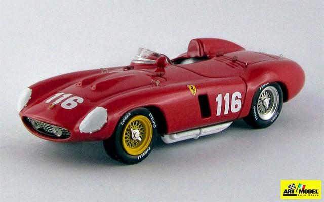 ART160 - FERRARI 857 S - Targa Florio 1955 - Castellotti / Manzon
