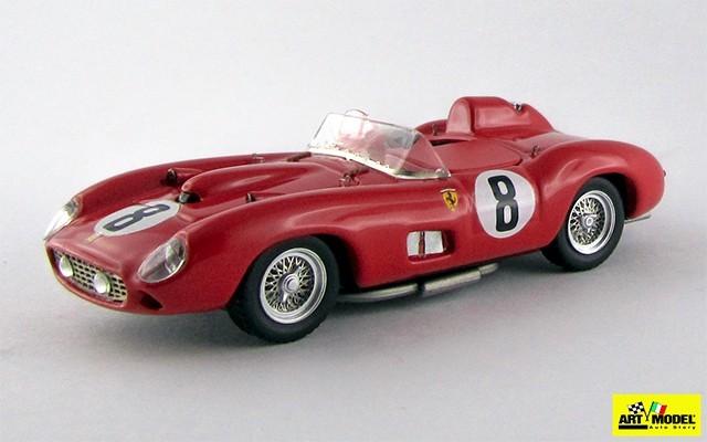 ART176 - FERRARI 315 S - Le Mans 1957 - Lewis / Evans / Severi