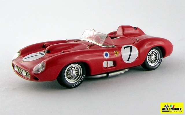 ART184 - FERRARI 315 S - Le Mans 1957 - Hawthnorn / Musso