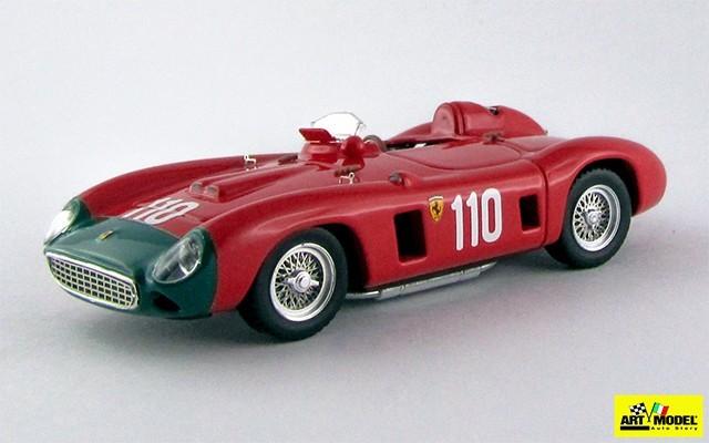 ART195 - FERRARI 860 MONZA - Targa Florio 1956 - Herrmann / Gendebien