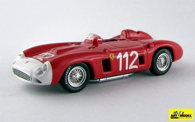 ART197 - FERRARI 860 MONZA - Targa Florio 1956 - Castellotti