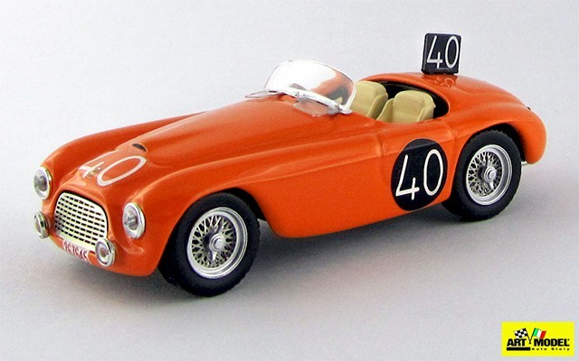 ART204-2 - FERRARI 166 MM BARCHETTA - SPA 1949 - Roosdorp/De Ridder