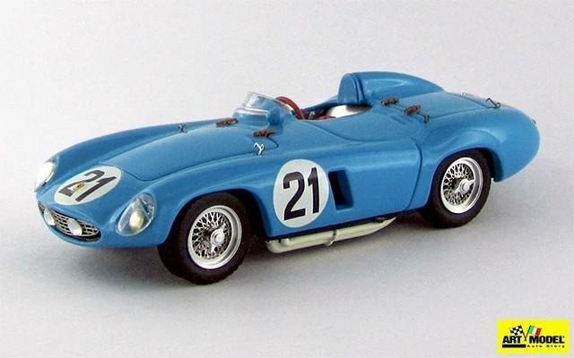ART243 - FERRARI 500 MONDIAL - Nassau 1955 - Rubirosa