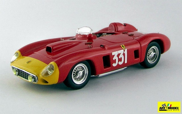 ART262 - FERRARI 290 MM - Targa Florio - Giro di Sicilia 1956 - Castellotti / Rota