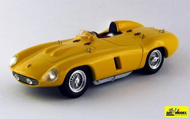ART264 - FERRARI 750 MONZA - 1955 - Prova