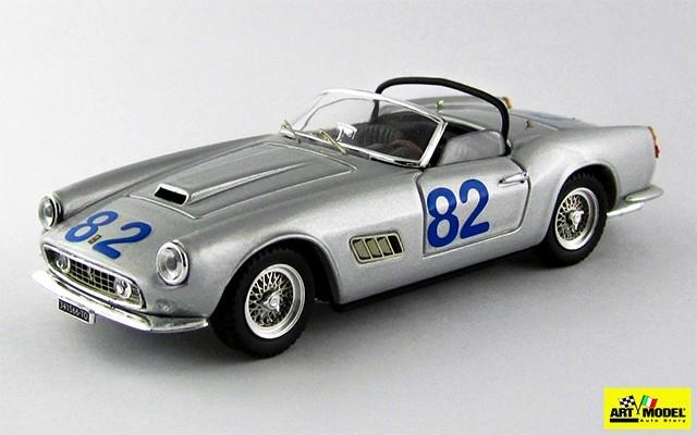ART273 - FERRARI 250 CALIFORNIA - Targa Florio 1962 - De Bonis/Fusina